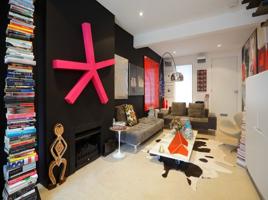 Pop art apartment in sydney cupcakejunky for Apartment design sydney